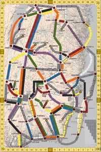 South-East Sweden 1925 (fan expansion for Ticket to Ride)