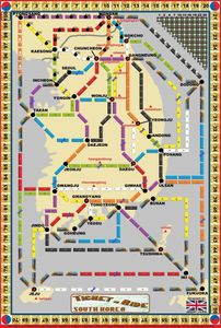 South Korea (fan expansion of Ticket to Ride)