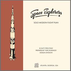Space Explorers: Solo Rulebook & Tracker