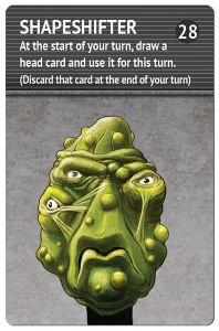 Space Freaks: Shapeshifter – The 28th Head Promo Card