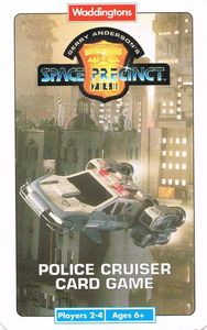 Space Precinct: Police Cruiser Card Game