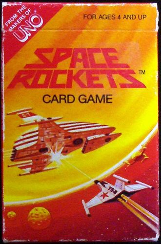 Space Rockets Card Game