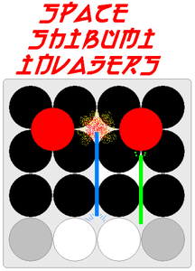 Space Shibumi Invaders!