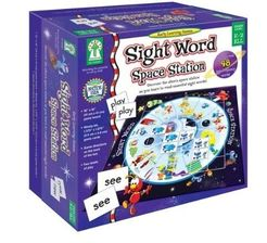 Space Station Sight-Word Game
