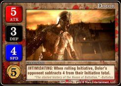 Spartacus: Dolor Promo Card