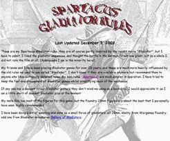 Spartacus: Gladiator Rules