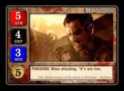 Spartacus: Magnetius Promo Card