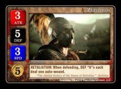 Spartacus: Zephyros Promo Card