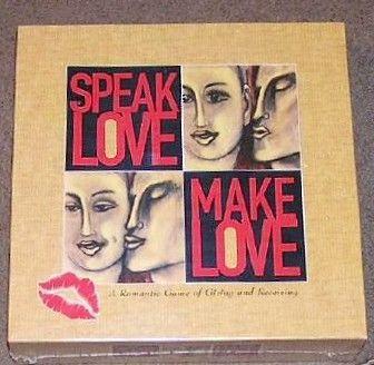 Speak Love Make Love