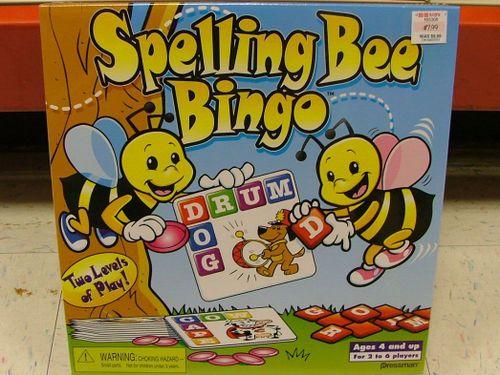 Spelling Bee Bingo