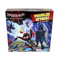 Spider-Man Into the Spider-Verse Prowler Attack 3-D Game