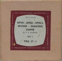 Spin and Spell Word Making Game