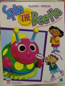 Spin the Beetle Board Game