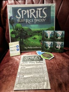 Spirits of the Rice Paddy: Solo Play Components