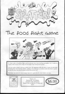 Splatter: The food fight game