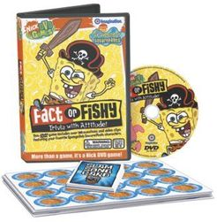 SpongeBob SquarePants Fact or Fishy DVD Game