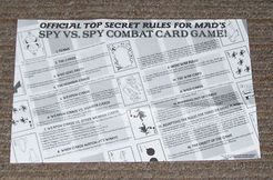 Spy vs. Spy Combat Card Game