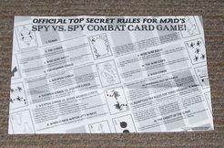 Spy vs. Spy Combat Card Game