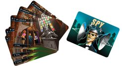 Spyfall: Cathedral promo cards