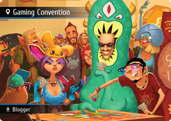 Spyfall: Gaming Convention promo cards