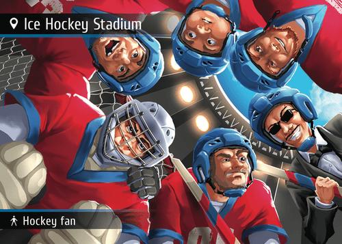 Spyfall: Ice Hockey Stadium promo cards