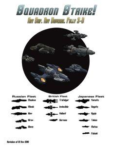 Squadron Strike!: Ship Book 1
