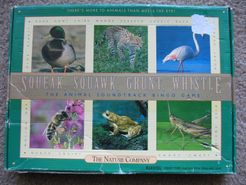Squeak, Squawk, Grunt, Whistle: the Animal Soundtrack Bingo Game
