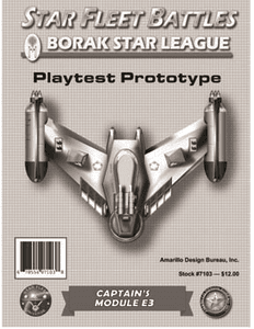 Star Fleet Battles: Captain's Module E3 – Borak Star League