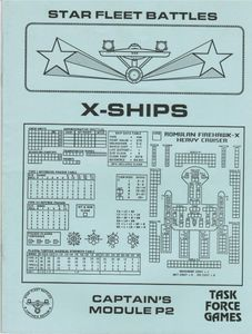 Star Fleet Battles: Captain's Module P2 – X-Ships