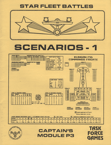 Star Fleet Battles: Captain's Module P3 – Scenarios – 1