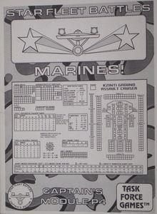 Star Fleet Battles: Captain's Module P4 – Marines!