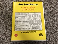 Star Fleet Battles: Captain's SSD Pack