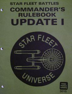 Star Fleet Battles Commanders Rulebook Update I