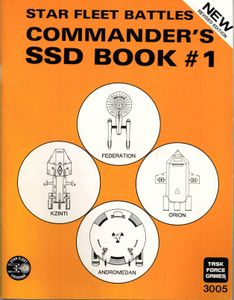Star Fleet Battles: Commander's SSD Book #1