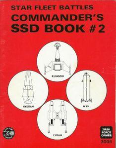 Star Fleet Battles: Commander's SSD Book #2
