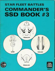 Star Fleet Battles: Commander's SSD Book #3