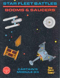 Star Fleet Battles: Module D3 – Booms & Saucers