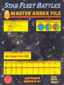 Star Fleet Battles: Module G1 – Master Annex File