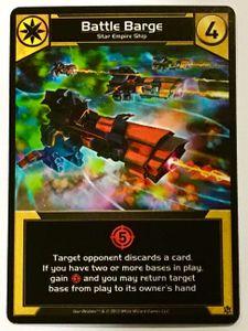 Star Realms: Battle Barge Promo Card