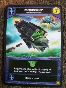 Star Realms: Megahauler Promo Card