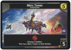 Star Realms: Merc Tower Promo Card