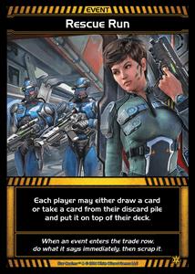 Star Realms: Rescue Run Promo Card