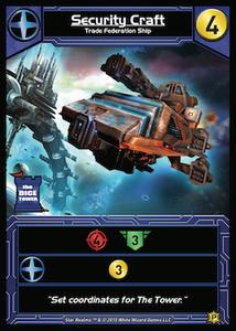 Star Realms: Security Craft Promo Card