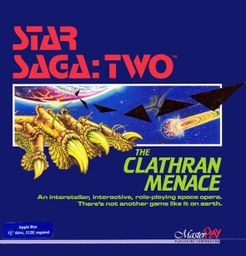 Star Saga: Two – The Clathran Menace