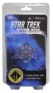 Star Trek: Attack Wing – 5th Wing Patrol Ship Expansion Pack
