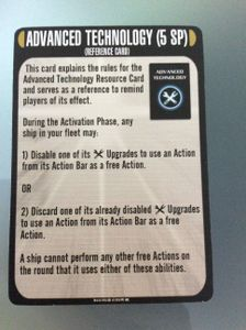 Star Trek: Attack Wing – Advanced Technology Resource