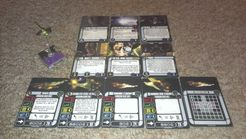 Star Trek: Attack Wing – Assimilated Vessel 64758 Dominion/Borg Expansion Pack