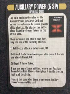Star Trek: Attack Wing – Auxiliary Power Resource