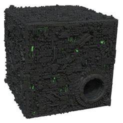 Star Trek: Attack Wing – Borg Cube With Sphere Port Premium Figure