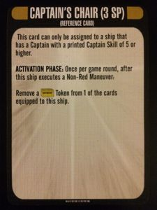 Star Trek: Attack Wing – Captain's Chair Resource